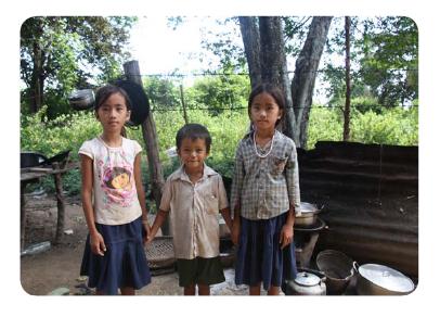 Destinatarios proyecto Camboya