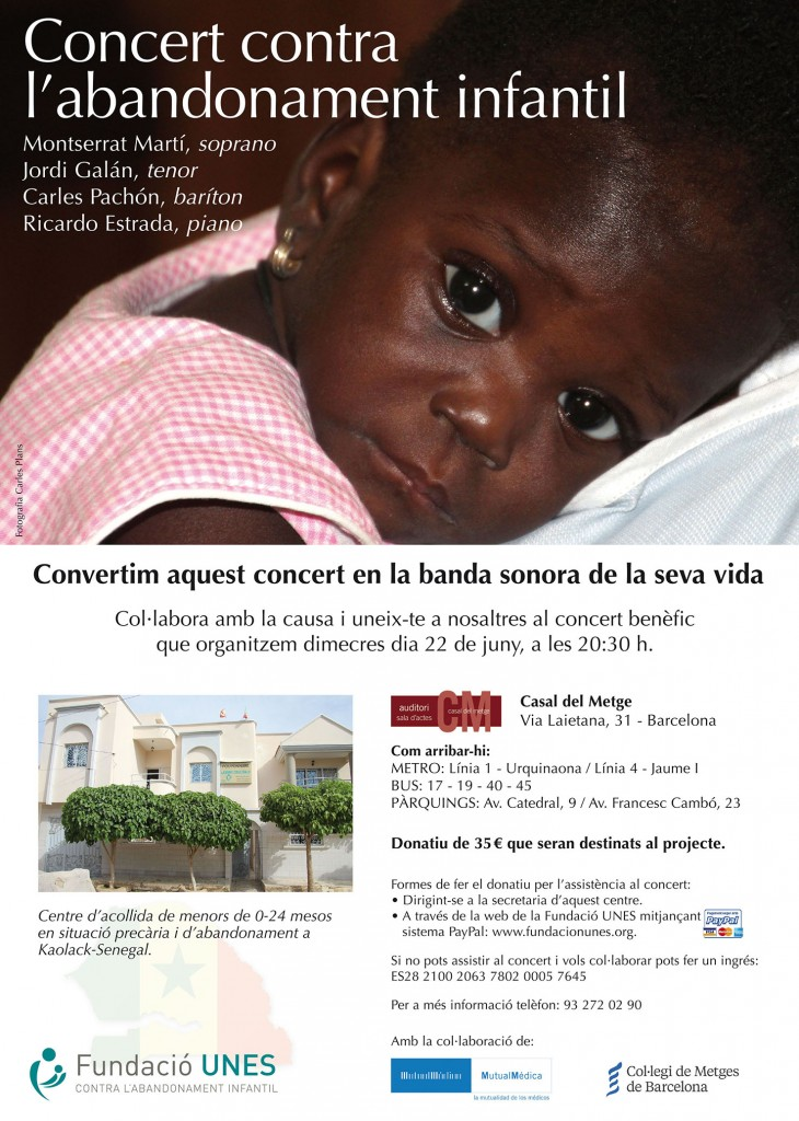 Cartel concierto DIN A 3 OKEY