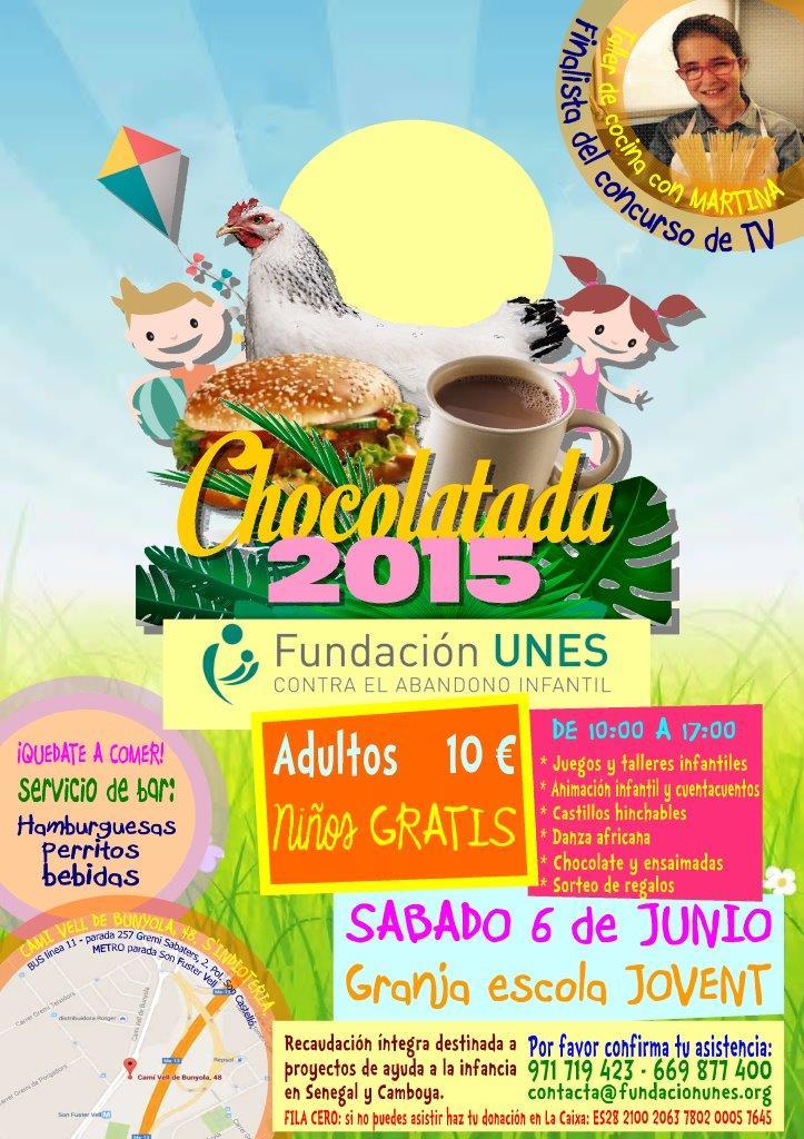 Chocolatada 2015-Poster