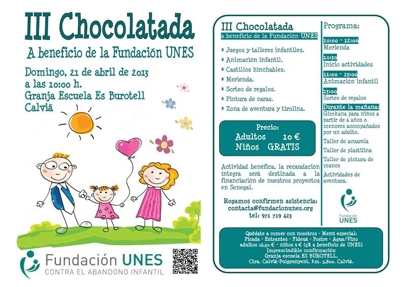 Poster Chocolatada 2013