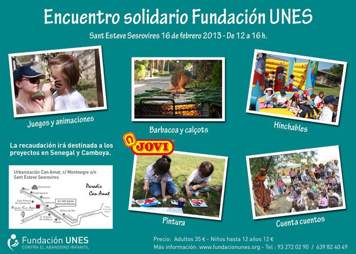 Encuentro solidario Fundación UNES